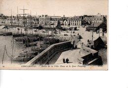CONCARNEAU Sortie De La Ville Close Et Le Quai - Concarneau
