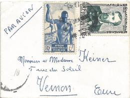 AEF Congo 1955 Pierre Savorgnan De Brazza Canoe Cover - Brieven En Documenten
