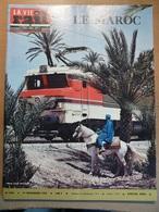 Vie Du Rail 1371 1972 Cpa Ferroviaires Vierzon Rabat Moulay Meknes Oujda Tinejdad Rissani Zagora Safi Marrakech Tanger - Trains