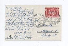 1941 S/W Karte Adolf Hitler In Breslau Mit Sondermarke Waffenbrüderschaft Mi 763 SST - Briefe U. Dokumente