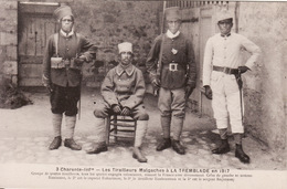 CPA 17 -- LA TREMBLADE -- 13° Bataillon Des Tirailleurs Malgaches En 1917  N° 3 TBE - La Tremblade