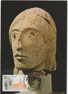 Carte- Maximum FRANCE  N° Yvert 2657 (CLUNY) Obl Sp Ill 1er Jour (Ed Combier 0210) - 1990-99