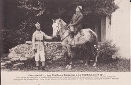 CPA 17 -- LA TREMBLADE -- 13° Bataillon Des Tirailleurs Malgaches En 1917  N° 1 --  TBE - La Tremblade