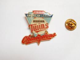 Beau Pin's , Baseball , American League , Minnesota , Twins - Baseball