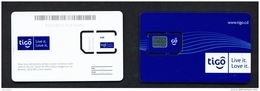 CONGO DR (KINSHASA)  - Mint Unused SIM Phonecard  Tigo  Stock Scan - Congo