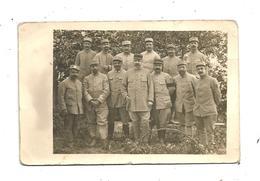 Cp,  Carte Photo , Militaria ,militaires Du 100 E , écrite 1915 - Personen