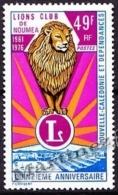 New Caledonia - Nouvelle Calédonie  1976 Yvert 401 15th Ann. Lions Club Of Nouméa - MNH - Nueva Caledonia
