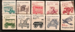 Etats Unis 81-90: Transports, Neuf ** - Vereinigte Staaten