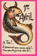CPA (Ref: Z2030) ) 1er AVRIL POISSON D'AVRIL - 1er Avril - Poisson D'avril