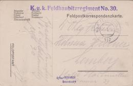 Austrian-Hungarian World War 1: From Cârlibaba In Romania - KuK Feldhaubitzregiment No. 30 To Lemberg (Lvov, Ukraine) - Militaria