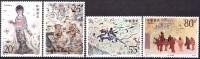 China 1992 Yvert 3132 / 35, Buddhist Frescos At Dunhuang (IV), MNH - Nuovi