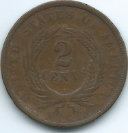 United States - 1864 - 2 Cents - KM94 - Bondsuitgaven
