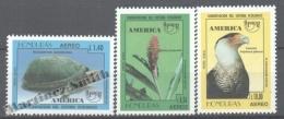 Honduras 1995 Yvert 859AO-59AQ, América UPAEP, Fauna & Flora - MNH - Honduras