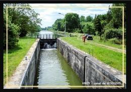08  VRIZY    ... Le  Canal De Vouziers - France