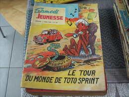 Samedi Jeunesse N° 126 Le Tour Du Monde De Toto Sprint - Samedi Jeunesse