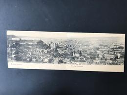 HUY - Panorama - Double Carte - Voyagée En 1904 - Huy