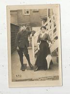 Cp,  Carte Photo , Militaria ,militaire , Vierge - Characters