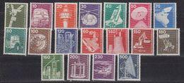Germany 1975/1982 Definitives/Industrie Und Technik 18v ** Mnh (42589) - [7] West-Duitsland