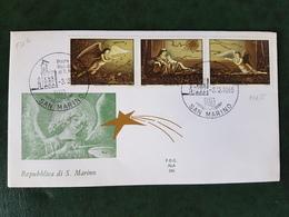 (35291) F.D.C. SAN MARINO  1985 - FDC