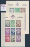 Belgien Block 9 A+B  **   (zu1033  ) Siehe Scan - Blocks & Kleinbögen 1924-1960