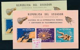 Ecuador   Block 18-19  **         (zu1003 ) Siehe Scan - Ecuador