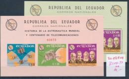 Ecuador  Block  14-17    **   (zu1028  ) Siehe Scan - Ecuador