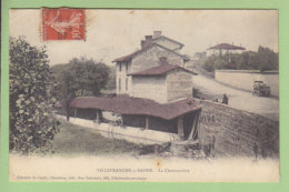 VILLEFRANCHE SUR SAONE : La Chartonnière. Dos Simple. 2 Scans. Edition Chambion - Villefranche-sur-Saone