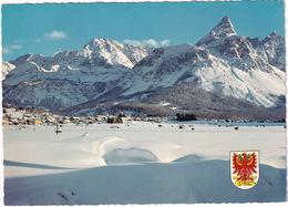 Ehrwald, 1000 M, Tirol, Mit Mieminger Gebirge -  (Austria) - Ehrwald