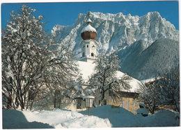 Ehrwald, 1000 M Mit Zugspitze, 2964 M, Tirol -  (Austria) - Ehrwald