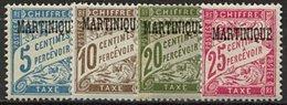 Martinique, Taxe N° 01 à N° 11* Y Et T, 1 / 11 - Martinique (1886-1947)