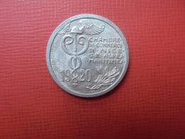 NICE 10 CENTIMES 1920 MONNAIE DE NECESSITE (PLANCHE.3) - France