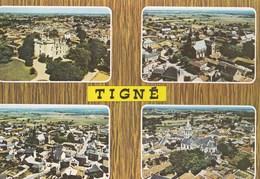 Carte 1960 TIGNE / MULTIVUES VUE GENERALE , VUE AERIENNE - France