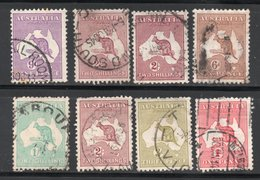 COLLECTION / LOT / N° 2 - 5 - 62 - 63 - 42 - 85 - 85 A - COTE 2005 - 50 € - 1913-48 Kangaroos