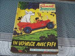 Samedi Jeunesse Jef Nys Jojo N° 119 En Voyage Avec Fifi - Samedi Jeunesse