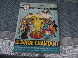 Samedi Jeunesse Jef Nys Jojo N° 47 Le Singe Chantant - Samedi Jeunesse