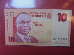 NIGERIA 10 NAIRA 2006 PEU CIRCULER/NEUF - Nigeria