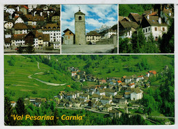 """ VAL  PESARINA  CARNIA ""  MAXICARD      PRATO  CARNICO  (UD)                (VIAGGIATA ) - Autres Villes"