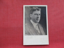 RPPC   Man To ID Victor Studio  NY             Ref 3320 - To Identify