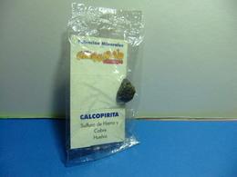 PANRRICO Colección De Minerales  CALCOPIRITA (sulfuro De Hierro Y Cobre) - Minerales