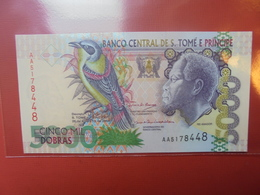 SAINT-THOMAS Et PRINCIPE 5000 DOBRAS 2004 PEU CIRCULER/NEUF - Sao Tome And Principe