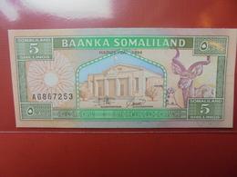 SOMALIE 5 SHILLINGS 1994 PEU CIRCULER/NEUF - Somalia
