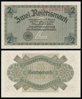 Germany / Third Reich / 1940  / 2 Reichsmark / P: R 137b / UNC - [ 9] Duitse Bezette Gebieden