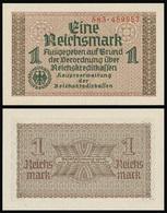 Germany / Third Reich / 1940  / 1 Reichsmark / P: R 136b / UNC - [ 9] Duitse Bezette Gebieden