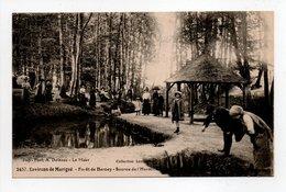 - CPA Environs De Marigné (72) - Forêt De Bercey - Source De L'Hermitière (belle Animation) - Photo Dolbeau 2437 - - France