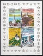 SCHWEIZ Block 25, Gestempelt, 200 Jahre Tourismus 1987 - Blocks & Sheetlets & Panes