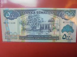 SOMALIE 500 SHILLINGS 2011 PEU CIRCULER/NEUF - Somalië