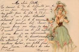 CPA - Thèmes - Illustrateur - 1900 - Portrait De Femme - Illustrateurs & Photographes