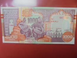 SOMALIE 1000 SHILLINGS 1990 PEU CIRCULER/NEUF - Somalië