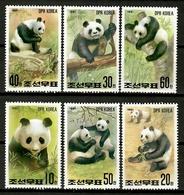 Korea 1991 Corea / Panda Bear Mammals MNH Mamiferos Oso Panda Säugetiere / Cu12912  34-10 - Orsi