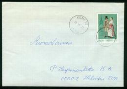 BR Finnland   1972 Brief Von Kemi Nach Finnland, Helsinki - Storia Postale